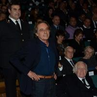 Foto Nicoloro G.  07/12/2014    Milano    Tradizionale cerimonia della consegna degli Ambrogini da parte del Comune di Milano. nella foto l' attore Nino Formicola.