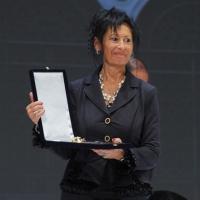 """Foto Nicoloro G. 25/11/2012 Ravenna Quarantunesima edizione del """" Premio Guidarello per il Giornalismo d' Autore """". nella foto Anna Tonelli"""