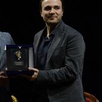 Foto Nicoloro G.  29/11/2015   Ravenna   44° edizione del Premio Guidarello per il Giornalismo d' Autore organizzato da Confindustria Ravenna. nella foto il giornalista Paolo Di Paolo premiato per la sezione cultura.
