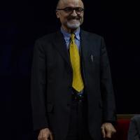 Foto Nicoloro G.  29/11/2015   Ravenna   44° edizione del Premio Guidarello per il Giornalismo d' Autore organizzato da Confindustria Ravenna. nella foto l' attore Ivano Marescotti, premiato per la sezione audiovisivi.