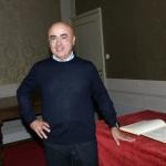 Foto Nicoloro G.   23/11/2019   Ravenna    48° edizione del ' Premio Guidarello per il giornalismo d' autore ' organizzato da Confindustria Romagna. nella foto il comico Paolo Cevoli, premiato nella sezione Turismo.