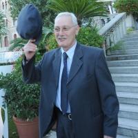 """Foto Nicoloro G.  03/09/2010  Venezia  Quarantottesima edizione del """" Premio Campiello Letteratura """". nella foto Antonio Pennacchi"""