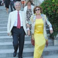 """Foto Nicoloro G.  03/09/2010  Venezia  Quarantottesima edizione del """" Premio Campiello Letteratura """". nella foto Gad Lerner - Inge Feltrinelli"""