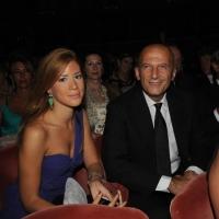 """Foto Nicoloro G.   04/09/2010  Venezia  Quarantottesima edizione del """" Premio Campiello Letteratura """". nella foto Augusto Minzolini con un'amica"""
