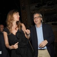 """Foto Nicoloro G.   04/09/2010  Venezia  Quarantottesima edizione del """" Premio Campiello Letteratura """". nella foto Vittorio Sgarbi con la fidanzata Sabrina Colle"""