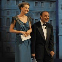 """Foto Nicoloro G.   04/09/2010  Venezia  Quarantottesima edizione del """" Premio Campiello Letteratura """". nella foto Andrea Osvart – Bruno Vespa"""