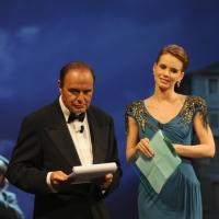 """Foto Nicoloro G.   04/09/2010  Venezia  Quarantottesima edizione del """" Premio Campiello Letteratura """". nella foto Bruno Vespa – Andrea Osvart"""