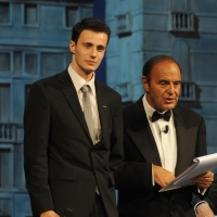 """Foto Nicoloro G.   04/09/2010  Venezia  Quarantottesima edizione del """" Premio Campiello Letteratura """". nella foto Ciro Gazzola – Bruno Vespa"""