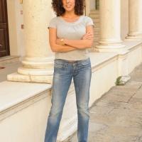"""Foto Nicoloro G.   04/09/2010  Venezia  Quarantottesima edizione del """" Premio Campiello Letteratura """". nella foto Silvia Avallone"""
