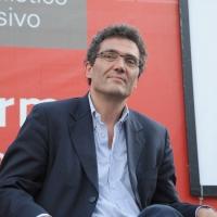 """Foto Nicoloro G. 19/06/2010  Riccione (Rimini)  Sedicesima edizione del """"Premio giornalistico televisivo Ilaria Alpi"""". nella foto Roberto Natale"""