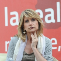 """Foto Nicoloro G. 19/06/2010  Riccione (Rimini)  Sedicesima edizione del """"Premio giornalistico televisivo Ilaria Alpi"""". nella foto Tiziana Ferrario"""