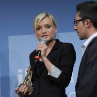 """Foto Nicoloro G. 19/06/2010  Riccione (Rimini)  Sedicesima edizione del """"Premio giornalistico televisivo Ilaria Alpi"""". nella foto Anouk Burel"""