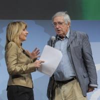 """Foto Nicoloro G. 19/06/2010  Riccione (Rimini)  Sedicesima edizione del """"Premio giornalistico televisivo Ilaria Alpi"""". nella foto Tiziana Ferrario – Demetrio Volcic"""