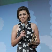 """Foto Nicoloro G. 19/06/2010  Riccione (Rimini)  Sedicesima edizione del """"Premio giornalistico televisivo Ilaria Alpi"""". nella foto Tiziana Prezzo"""