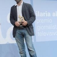 """Foto Nicoloro G. 19/06/2010  Riccione (Rimini)  Sedicesima edizione del """"Premio giornalistico televisivo Ilaria Alpi"""". nella foto Luca Bertazzoni"""