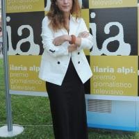 """Foto Nicoloro G. 06/09/2012 Riccione ( Rimini ) Diciottesima edizione del """" Premio Ilaria Alpi """", premio giornalistico televisivo che gode dell' Alto Patronato della Presidenza della Repubblica. nella foto Isabella Ragonese"""