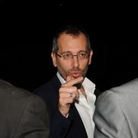 """Foto Nicoloro G. 07/09/2012 Riccione ( Rimini ) Seconda giornata della diciottesima edizione del """" Premio Ilaria Alpi """", premio giornalistico televisivo che gode dell' Alto Patronato della Presidenza della Repubblica. nella foto Corrado Formigli"""