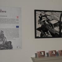 """Foto Nicoloro G. 15/06/2011 Riccione (RN) Inaugurata la diciassettesima edizione del """" Premio Ilaria Alpi per il giornalismo televisivo """" dal titolo """" Esserci per la verita' """" con tre eventi : la presentazione di un libro in memoria del padre della giornalista uccisa in Somalia, una mostra fotografica sulla Somalia e l' installazione """" L' opera al nero """". nella foto Una sala della mostra fotografica sulla Somalia"""