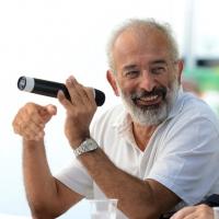 """Foto Nicoloro G. 06/09/2013 Riccione ( Rimini ) Diciannovesima edizione del """" Premio giornalistico televisivo Ilaria Alpi """". nella foto Gad Lerner"""