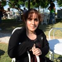 """Foto Nicoloro G. 06/09/2013 Riccione ( Rimini ) Diciannovesima edizione del """" Premio giornalistico televisivo Ilaria Alpi """". nella foto Susan Mohammadkani Ghiasvand"""