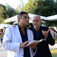 """Foto Nicoloro G. 06/09/2013 Riccione ( Rimini ) Diciannovesima edizione del """" Premio giornalistico televisivo Ilaria Alpi """". nella foto Andrea Vianello – Luca Ajroldi"""