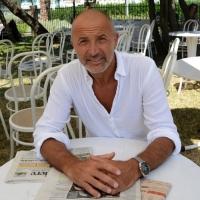 """Foto Nicoloro G. 06/09/2013 Riccione ( Rimini ) Diciannovesima edizione del """" Premio giornalistico televisivo Ilaria Alpi """". nella foto Domenico Iannacone"""