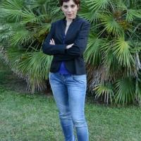 """Foto Nicoloro G. 06/09/2013 Riccione ( Rimini ) Diciannovesima edizione del """" Premio giornalistico televisivo Ilaria Alpi """". nella foto Vittoria Iacovella"""