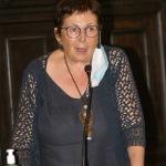Foto Nicoloro G.   15/09/2020   Ravenna   Con l' intervento della ministra dell' Istruzione si e' svolta la presentazione dei progetti scolastici dedicati a Dante, in occasione del 700° anno dalla morte del Sommo Poeta. nella foto l' assessore Elsa Signorino.