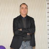 """Foto Nicoloro G. 20/01/2011 Milano Presentazione alla terrazza Martini del film """" Qualunquemente """". nella foto Piero Guerrera"""