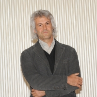 """Foto Nicoloro G. 20/01/2011 Milano Presentazione alla terrazza Martini del film """" Qualunquemente """". nella foto Domenico Procacci"""
