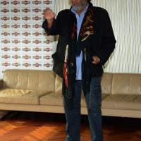 """Foto Nicoloro G.   20/10/2014   Milano  presentazione del film """" Soap opera """". nella foto l' attore Diego Abatantuono."""