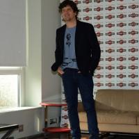 """Foto Nicoloro G.   20/10/2014   Milano  presentazione del film """" Soap opera """". nella foto l' attore Fabio De Luigi."""