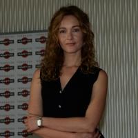 """Foto Nicoloro G.   20/10/2014   Milano  presentazione del film """" Soap opera """". nella foto l' attrice Cristiana Capotondi."""