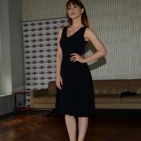 """Foto Nicoloro G.   20/10/2014   Milano  presentazione del film """" Soap opera """". nella foto l' attrice Chiara Francini."""
