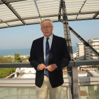 """Foto Nicoloro G . 06/10/2012 Riccione ( Rimini ) Presentazione del nuovo movimento """" 3L Avanti Insieme """" da parte dell' ex ministro del Tesoro Giulio Tremonti. nella foto Giulio Tremonti"""