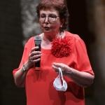 Foto Nicoloro G.   30/07/2020   Ravenna    Presentazione del programma delle celebrazioni per i 700 anni dalla morte di Dante Alighieri. nella foto l' assessore alla Cultura Elsa Signorino.
