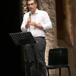 Foto Nicoloro G.   30/07/2020   Ravenna    Presentazione del programma delle celebrazioni per i 700 anni dalla morte di Dante Alighieri. nella foto il sindaco di Ravenna Michele De Pascale.