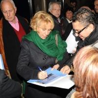 """Foto Nicoloro G. 26/11/2011 Milano Presentazione al teatro Nuovo del movimento politico """" Riformisti italiani """". nella foto Stefania Craxi"""