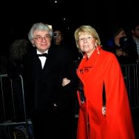 Foto Nicoloro G.  07/12/2014    Milano    Tradizionale serata inaugurale della stagione lirica del Teatro alla Scala. nella foto l' architetto Mario Botta con la moglie.