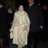 Foto Nicoloro G.  07/12/2014    Milano    Tradizionale serata inaugurale della stagione lirica del Teatro alla Scala. nella foto Carla Fracci.