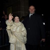 Foto Nicoloro G.  07/12/2014    Milano    Tradizionale serata inaugurale della stagione lirica del Teatro alla Scala. nella foto l' etoile Carla Fracci.