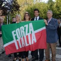 Foto Nicoloro G. 21/09/2013 Milano Prima assemblea della nuova Forza Italia con l' intervento del vice premier Angelino Alfano. nella foto Mariastella Gelmini e alcuni sostenitori