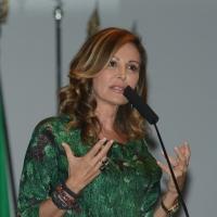 Foto Nicoloro G. 21/09/2013 Milano Prima assemblea della nuova Forza Italia con l' intervento del vice premier Angelino Alfano. nella foto Daniela Santanchè