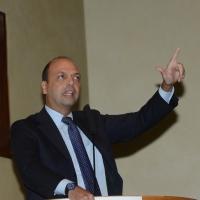 Foto Nicoloro G. 21/09/2013 Milano Prima assemblea della nuova Forza Italia con l' intervento del vice premier Angelino Alfano. nella foto Angelino Alfano