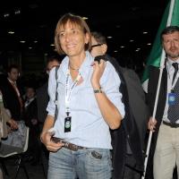 Foto Nicoloro G.  06/11/2010 Bastia Umbra  (Perugia)  Prima Convention di Futuro e Liberta' – Manifesto per l' Italia. nella foto Flavia Perina