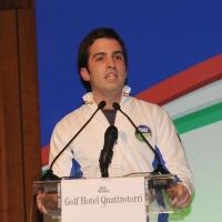 Foto Nicoloro G.  06/11/2010 Bastia Umbra  (Perugia)  Prima Convention di Futuro e Liberta' – Manifesto per l' Italia. nella foto Gianmario Mariniello