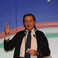 Foto Nicoloro G.  06/11/2010 Bastia Umbra  (Perugia)  Prima Convention di Futuro e Liberta' – Manifesto per l' Italia. nella foto Gianfranco Fini