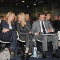 Foto Nicoloro G.  06/11/2010 Bastia Umbra  (Perugia)  Prima Convention di Futuro e Liberta' – Manifesto per l' Italia. nella foto Elisabetta Tulliani - Gianfranco