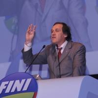 Foto Nicoloro G.  06/11/2010 Bastia Umbra  (Perugia)  Prima Convention di Futuro e Liberta' – Manifesto per l' Italia. nella foto Roberto Menia