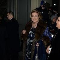 Foto Nicoloro G.  07/12/2015   Milano   Tradizionale inaugurazione della stagione 2015-2016 del Teatro alla Scala con l' opera ' Giovanna D' Arco ' di Giuseppe Verdi. nella foto Diana Bracco.